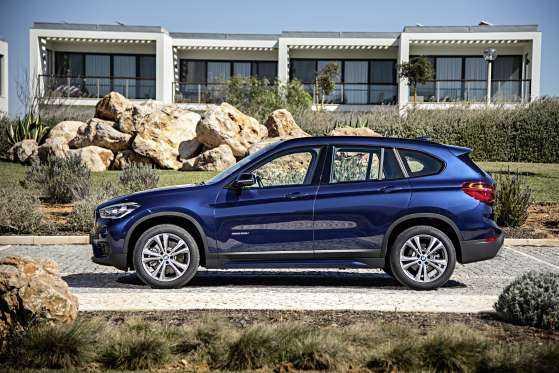 BMW X1: характеристики