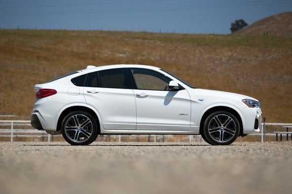 BMW X4: характеристики