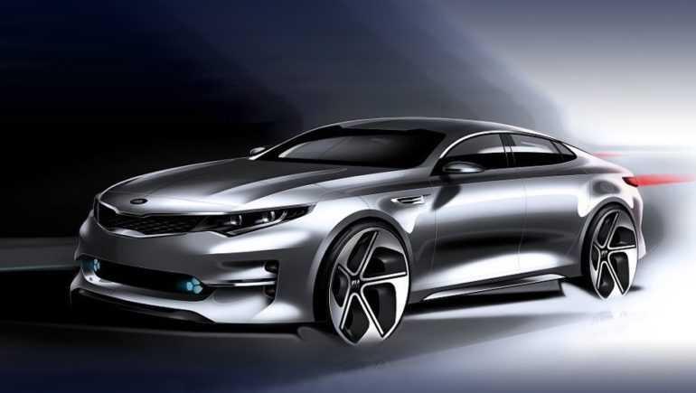 Первые фото нового поколения KIA Optima 2020 модельного года