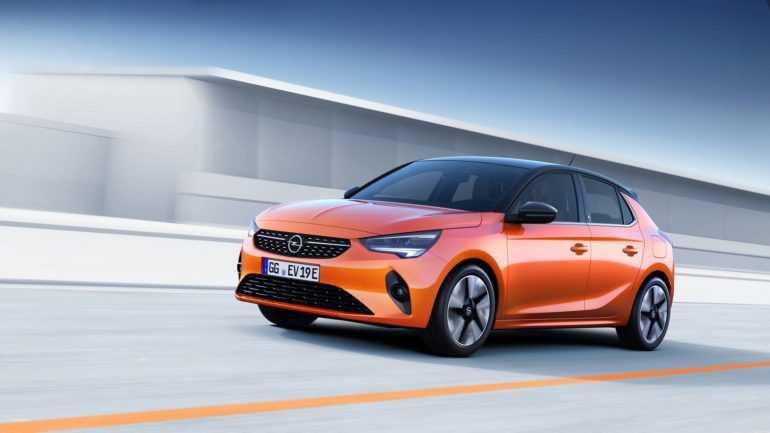 новое поколение Opel Corsa 2020