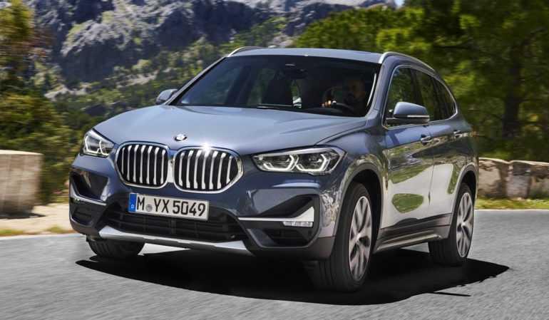 обновленный кроссовер BMW X1 2020