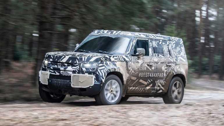 Внедорожник Land Rover Defender 2020 года