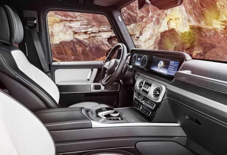 Mercedes-Benz G-Class 2019 салон
