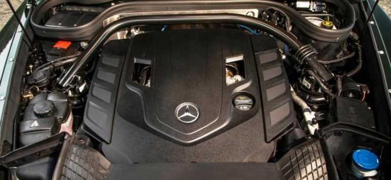 Mercedes-Benz G-Class 2019 двигатель