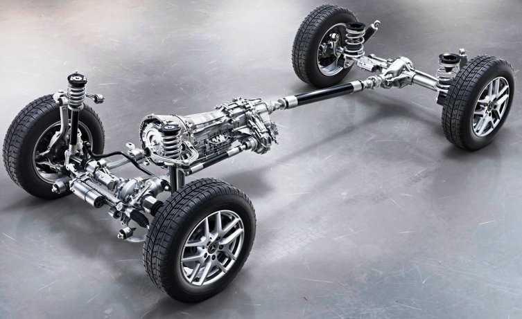 Mercedes-Benz G-Class 2019 подвеска