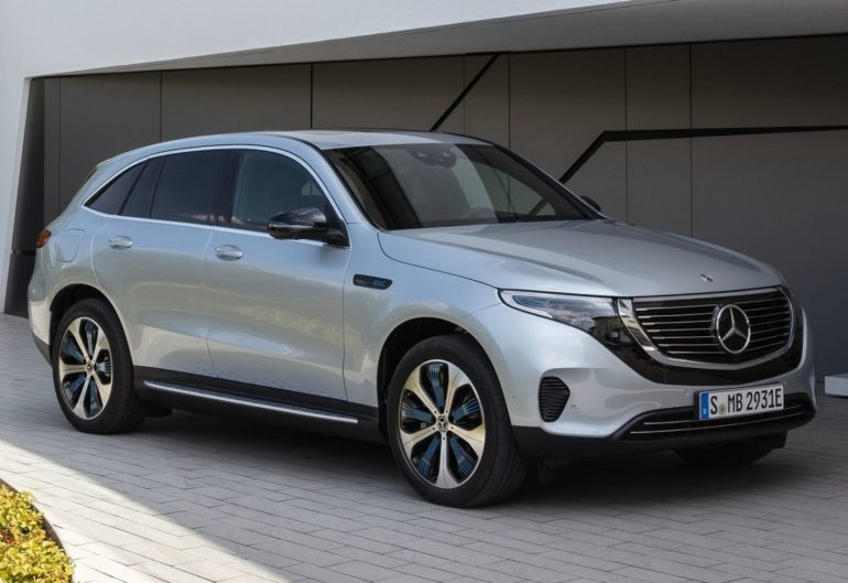 Электрокар Mercedes Benz EQC