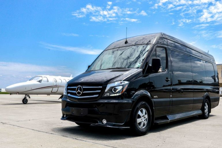 Электрокар Mercedes Benz Esprinter