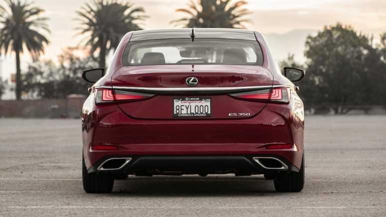 Первый тест Lexus ES 350 2019 года