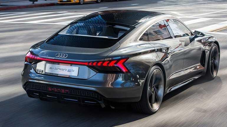 внешность нового Audi E-Tron GT