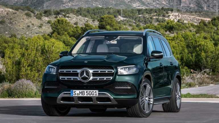Mercedes-Benz GLS 2020 года