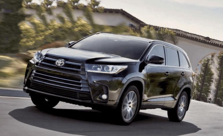 Toyota Highlander 2019 модельного года