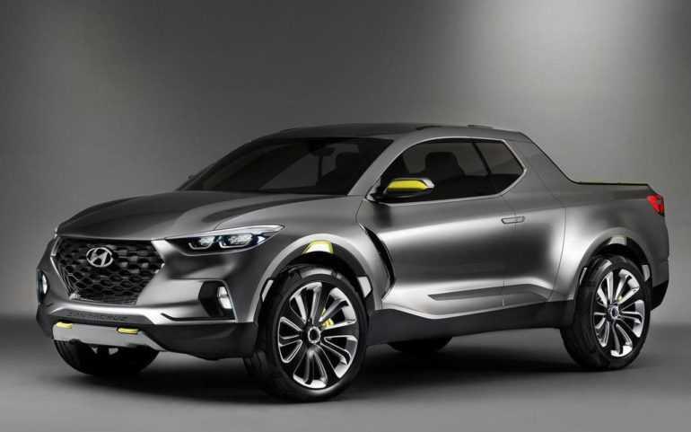 новый пикап на базе Hyundai Tucson