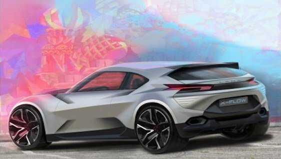 внешность новой спортивной LADA X-Flow