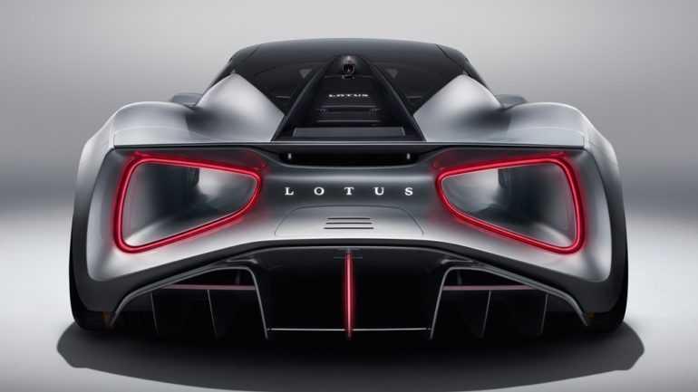 Новый электросуперкар Lotus Evija