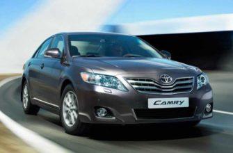 Опыт эксплуатации Toyota Camry