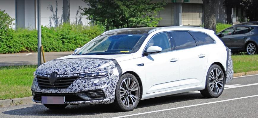 фотографии обновленного Renault Talisman