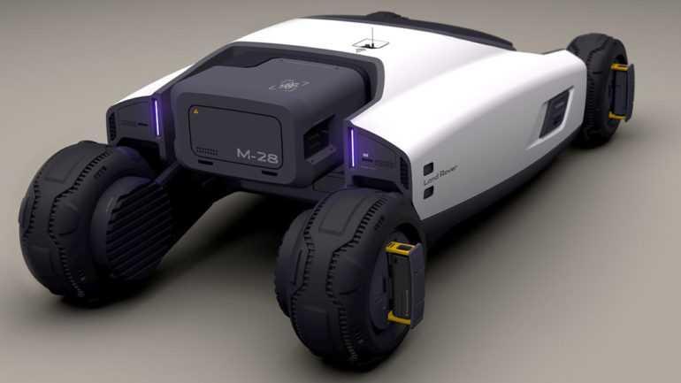 Марсоход от Land Rover