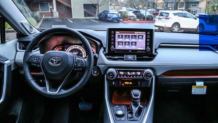 Салон Toyota Wildlander