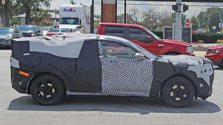 Внедорожник Ford Mustang EV