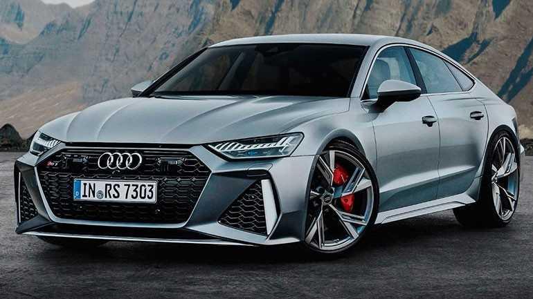первые изображения нового Audi RS7