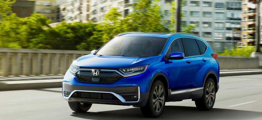 Новая версия кроссовера Honda CR-V
