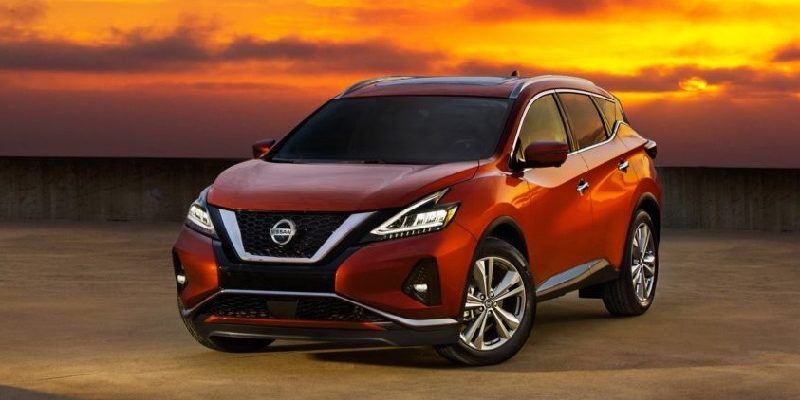 кроссовер Nissan Murano 2020