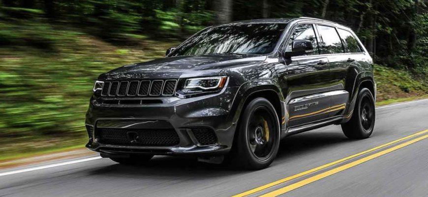 Jeep Grand Cherokee Trackhawk 2021