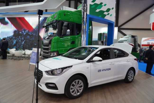 Hyundai Solaris CNG нового поколения