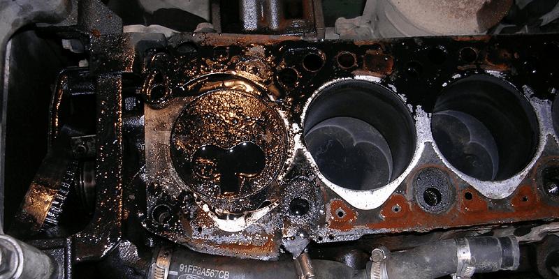 Гидроудар двигателя