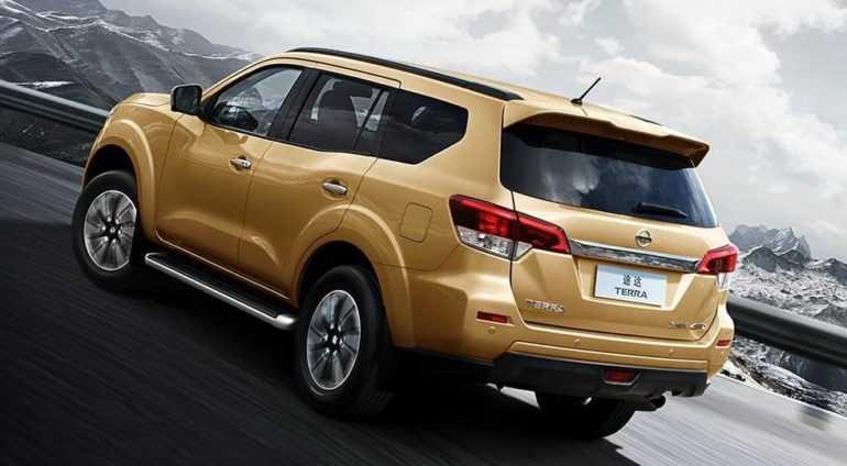 Новая версия рамного внедорожника Nissan Terra
