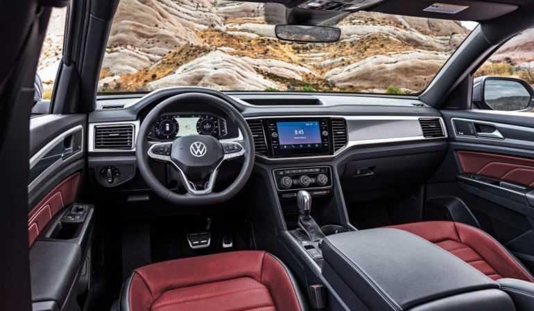 Volkswagen Atlas получил купеобразную версию