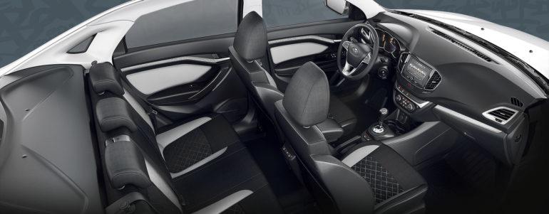Обзор автомобиля LADA Vesta 2019 года фото салона