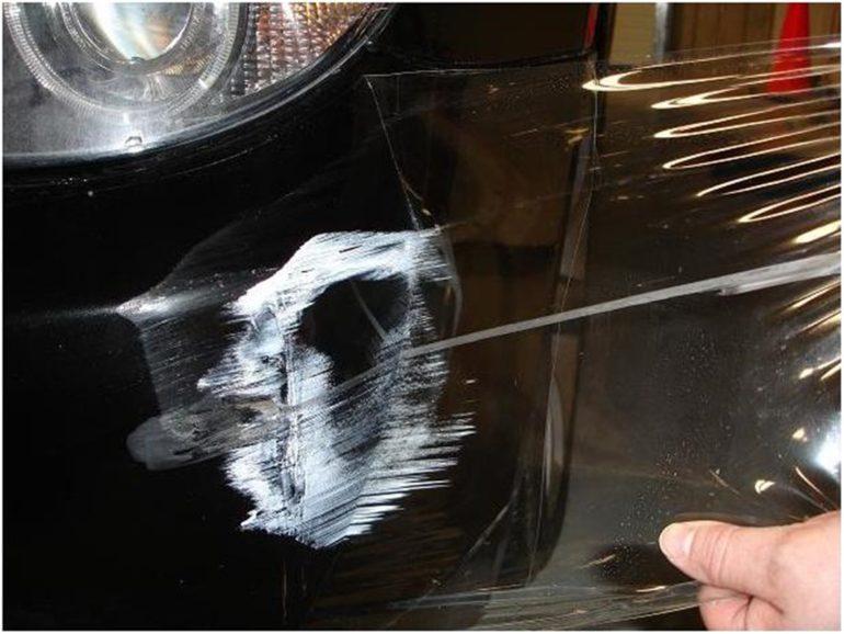 Достоинства защитной пленки для авто царапины