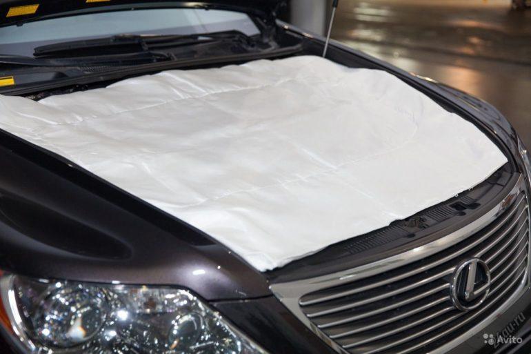 Использование одеяла для утепления двигателя