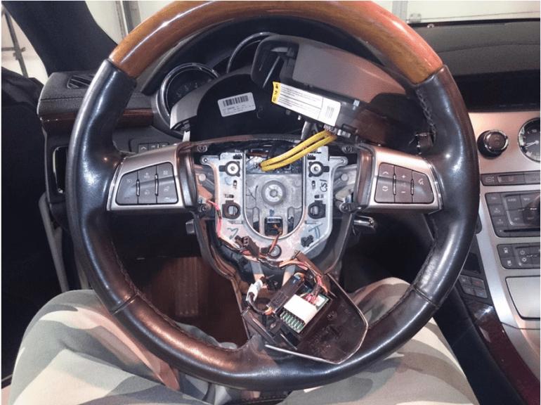 Как проверить подушки на руле