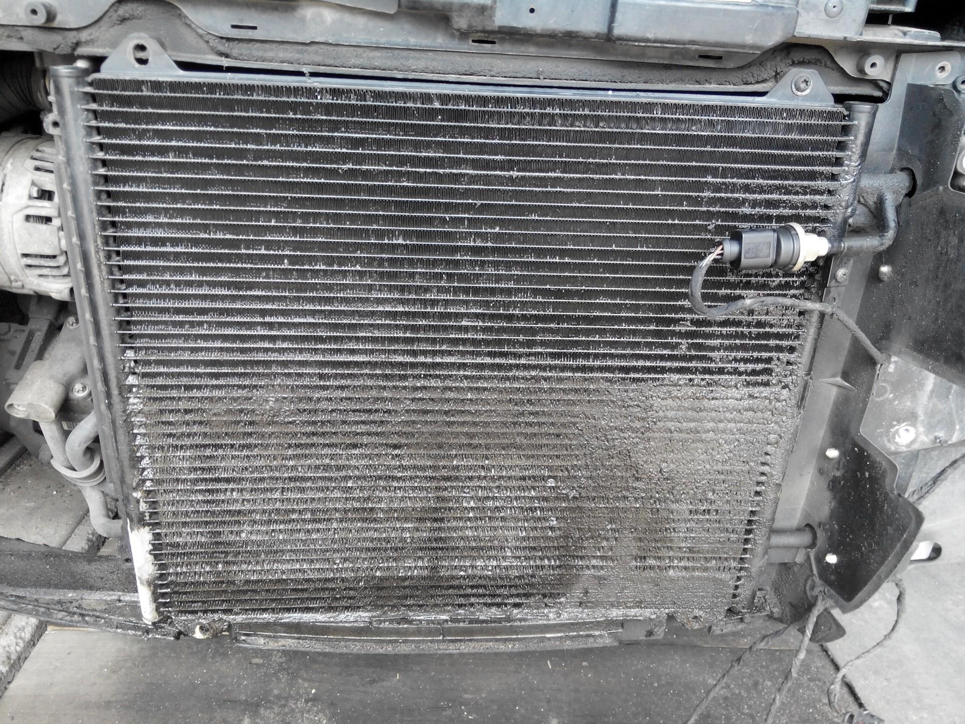 Чистота радиатора кондиционера