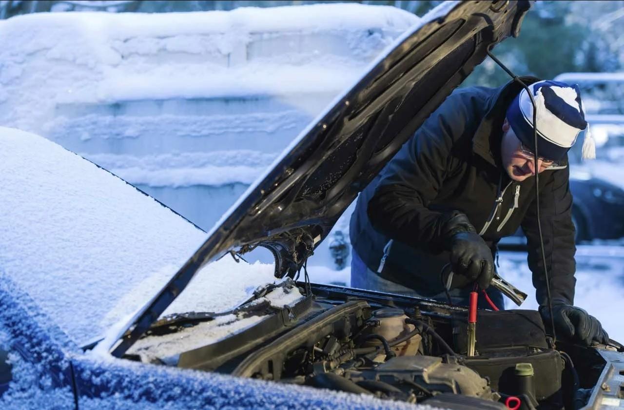 аккумулятор автомобиля зимой