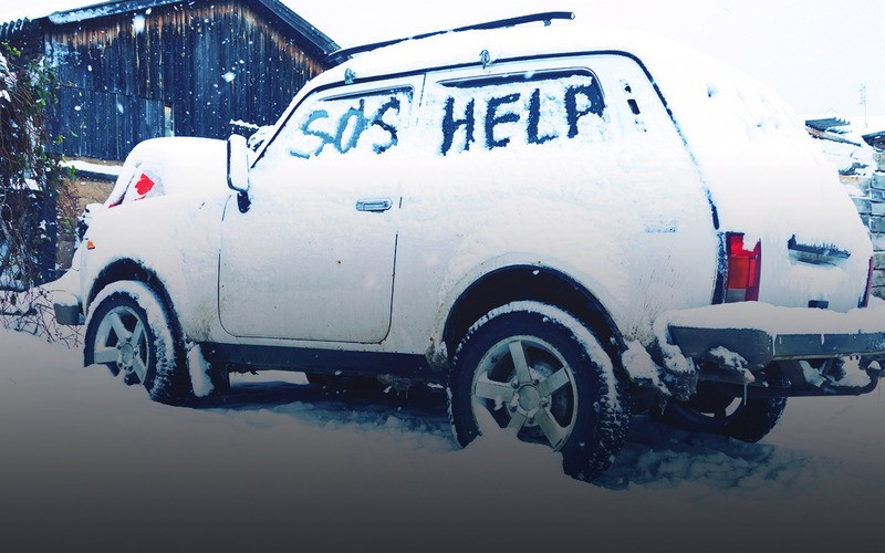 чего нельзя делать при открывании дверей автомобиля зимой