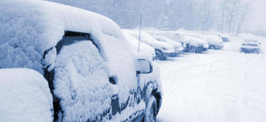 Как хранить автомобиль зимой на улице