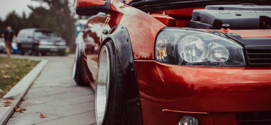 Обзор лучших подкрылков и расширителей колесных арок