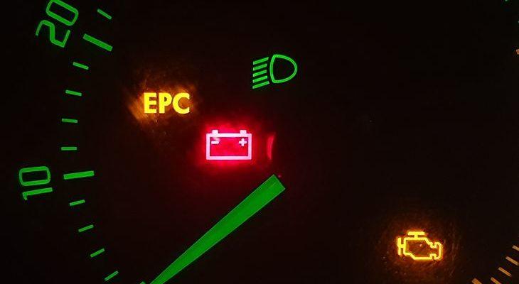 Ошибка EPC на приборной панели: что это такое?