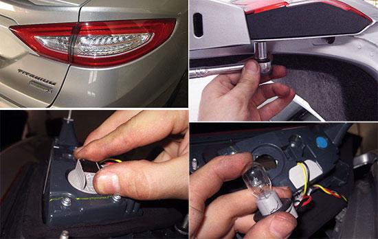 Замена лампочек Ford Fusion (Форд Фьюжн) своими руками