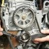 Замена ремня ГРМ Рено Логан объемом двигателя 1,6 8 клапанов, инструкция с фото и видео